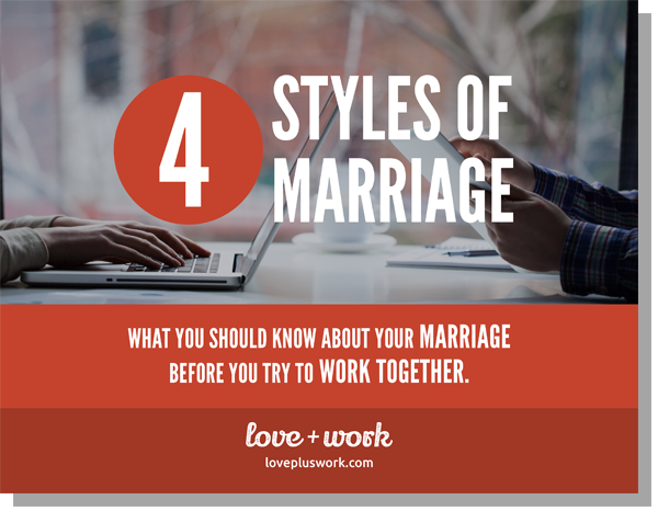 Love+Work: 4 Styles of Marriage